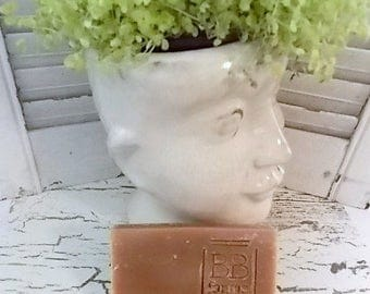 Homemade Large 5-6oz Bar of Natural Handmade Soap in CHRISTMAS SPICE