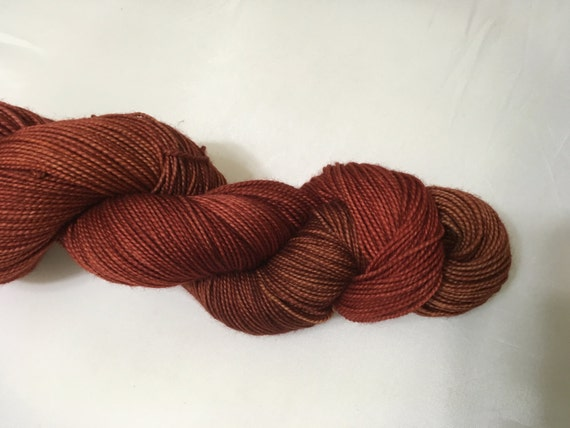 Fires Abound - Dyed to Order - Hand Dyed - Merino Wool Yarn - Fingering Weight