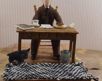 Carl Jung Psychologist Art Doll Diorama Set Study of Human Behavior Science Geek Gift Psychology