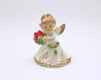 Vintage Christmas Decoration Angel Figurine Napcoware
