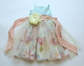 SAMPLE SALE - Laurel Dress in Forget Me Not - Size 6