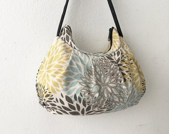 Pleated Bag // Shoulder Purse - Blooms Laken Collins
