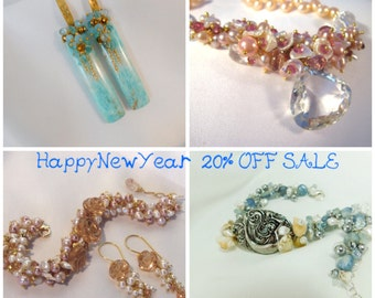 20% OFF TODAY - Big Sale - Twenty Percent Off - Happy New Year