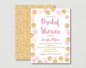 Blush Pink & Gold Bridal ...