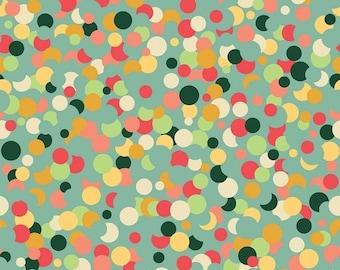 ON SALE Fancy And Fabulous Confetti Mint - 1/2 Yard