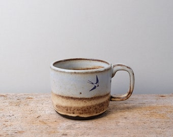 Rustic Flying Swallows Mug