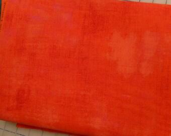 Grunge  fabric - tangerine