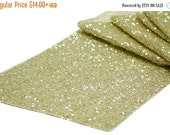 ON SALE NOW Sequins Runner Colors Sizes Sequin Table Runner Dark Ivory, Mint Green, Silver, Champagne, Gold, Purple, Red, Wedding Frozen we
