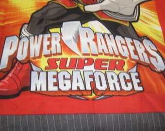 Power Rangers Fleece No-Sew Blanket
