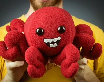 Large Octopus Plushie