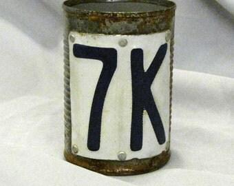 Tin can Beer mug
