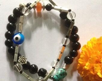 ON SALE The Heyoka Spirit Infinity Yoga Wrap Bracelet