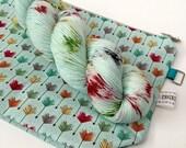 1 Rainbow Feathers on Signature Sock and Bag Kit