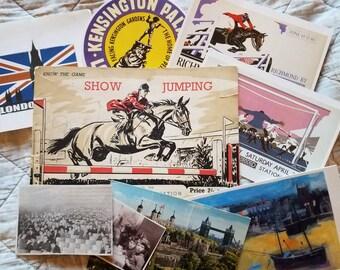 British Themed Ephemera Package