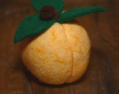 Sweet Georgia Peach - Felted Fruit Pincushion