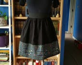 Pac-Man Skirt with Pockets - Custom Order for Jessica