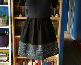 Pac-Man Skirt with Pockets - Size 2XL