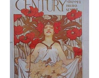 The Century, Art Nouveau Poster, Époque Art, Belle Époque, Art Nouveau, Music & Movie Posters, Decorative Arts Museum, J.C.Leyendecker