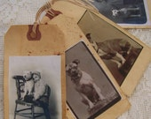 Handmade Gift Tags Vintage Tags Vintage Dog Tags Scented Grunge Tags Gift Tag Set  All Occasion