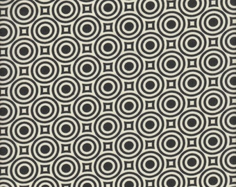 Free Spirit Fabrics Heather Bailey True Colors Zen Dot in Licorice - Half Yard