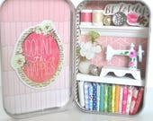 Tiny Tin Sewing Room ~ Count The Happies