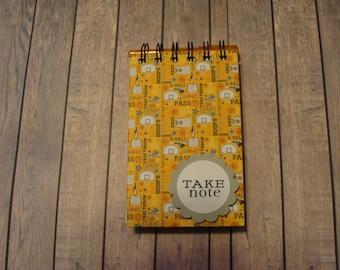 Basketball Themed Notebook