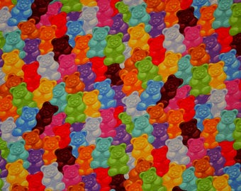 Gummy bears euro import knit 1/2 yard