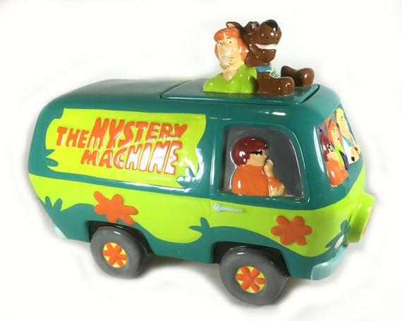 mystery machine cookie jar