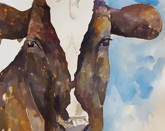 Resultado de imagen para vaca pintura