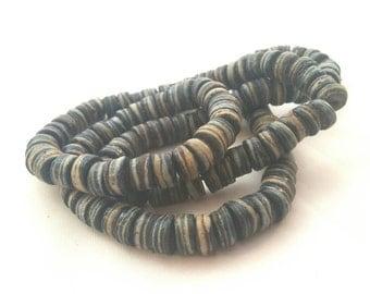 Vintage Salt Glaze Trade Beads // African // Pottery
