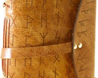 Custom Viking Rune Travellers Journal