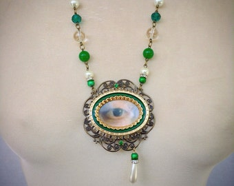 Lovers eye pendant