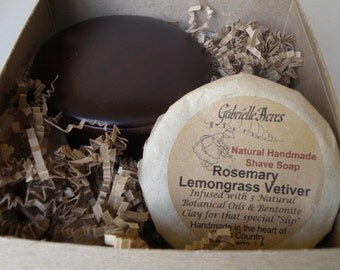 Shaving Gift, All Natural Shave Soap Gift Box