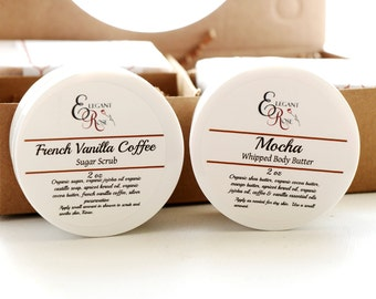 Coffee & Tea Spa Gift Set - Gift for Her, Gift for Him, Spa Gift