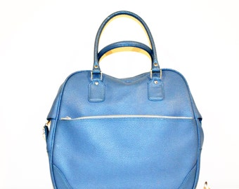 Vintage Tote Mod Blue