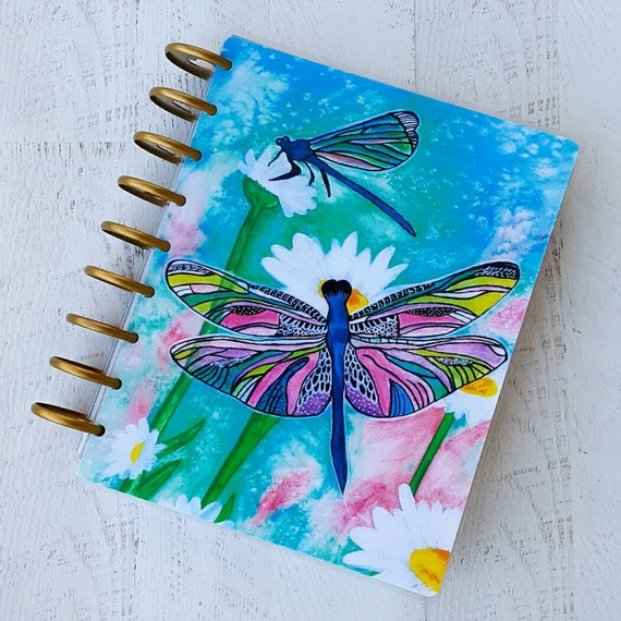 Happy planner cover dragonfly planner planner accessories for Happy planner accessories