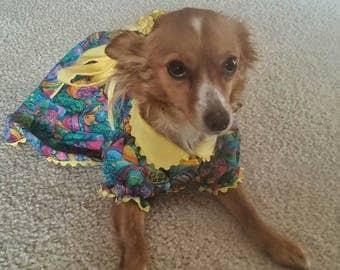 Easter Egg Dog Dress