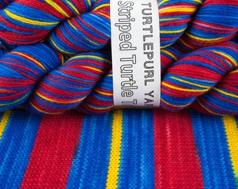 Prime (Limited Edition) - Hand-Dyed Self-Striping Sock Yarn