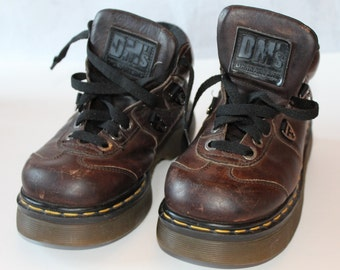 Vintage Doc Martens Shoe Boots, Made in England,Size Men's 5