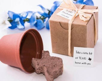 Texas Party Favors Wedding Favors Texas Shaped by Nature Favors
