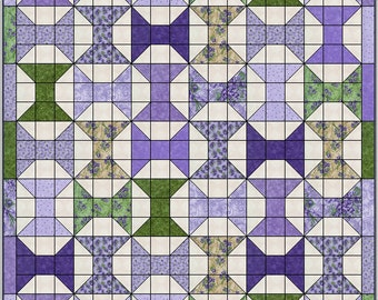 Downloadable 5 Yard Spools Quilt Pattern
