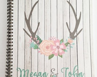 Personalized Wedding Planner Custom wedding planner new