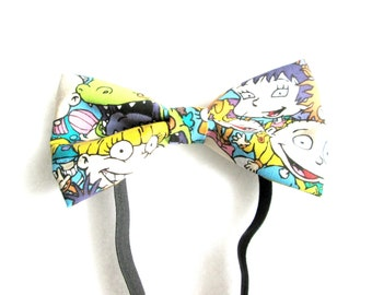 Rugrats Inspired Elastic Bow Tie