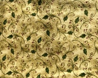 1/2 yard of premium Flannel fabric.  (138FH)