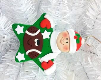 Football Christmas Ornament - Team Christmas Ornament - Personalized Football Ornament - Football Player Gift - Football Fan Gift - 12718