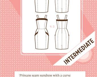 Sale! Lily dress pattern (C1020) - Colette patterns