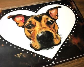 Puppy Love (5x7 print)