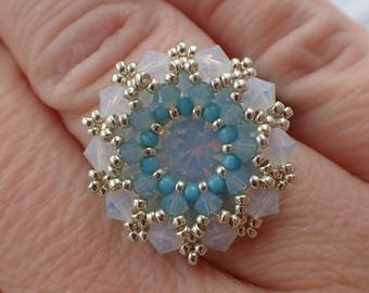 Prismatic Ring PDF Jewelry Making Tutorial (INSTANT DOWNLOAD)