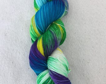 Hand-dyed Merino Sock Wool