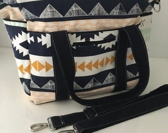 diaper bag designer sale q7g8  4K SALE Art Gallery Arizona Nappy Bag with Zipper and Long Strap with new  front pocket